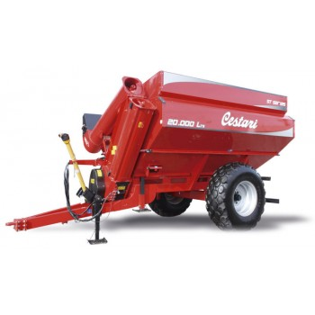 Саморазтоварващо ремарке за зърно 20 000 литра, Cestari, Аржентина